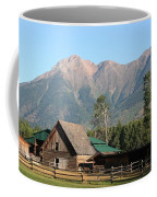 Country Ranch In Mountains Coffee Mug
