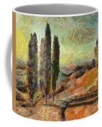 A Sunset In Tuscany Coffee Mug