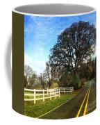 Country Road On Sauvie Island Coffee Mug