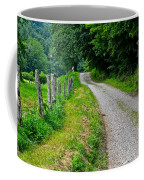 Country Road Coffee Mug by Frozen in Time Fine Art Photography