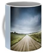 Country Road Through Fields, Denmark Coffee Mug by Evgeny Kuklev