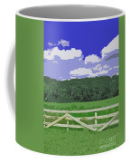 Countryside Scene Digital Painting Coffee Mug