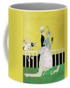 Couple At The Races, 1916 Coffee Mug