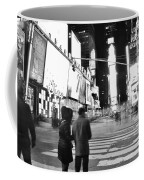 Couple In Times Square Coffee Mug
