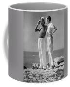 Couple On The Maine Shore Coffee Mug