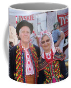 Couples In Polish National Costumes Coffee Mug