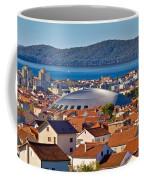 Coupola Sports Hall Landmark In Zadar Coffee Mug