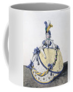 Court Dress, Fig. 106 From The Gallery Coffee Mug