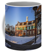 Court House In Winter Time Coffee Mug