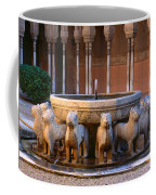 Court Of The Lions In The Alhambra Coffee Mug