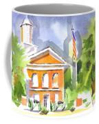 Courthouse Abstractions II Coffee Mug