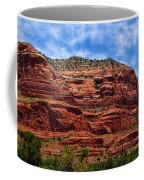 Courthouse Butte Rock Formation Sedona Arizona Coffee Mug by Amy Cicconi