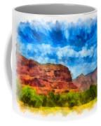 Courthouse Butte Sedona Arizona Coffee Mug by Amy Cicconi