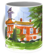 Courthouse On A Summers Evening Coffee Mug by Kip DeVore