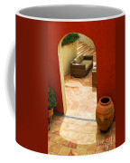 Courtyard Of A Villa Coffee Mug