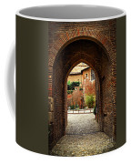 Courtyard Of Cathedral Of Ste-cecile In Albi France Coffee Mug by Elena Elisseeva