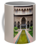 Courtyard Of The Maidens In Alcazar Palace Of Seville Coffee Mug