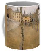 Courtyard Of The Old Barcelona Prison. Courtyard Of The Lambs Coffee Mug