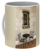 Courtyard Seating For Two Coffee Mug