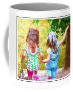 Cousins Helping Each Other Coffee Mug