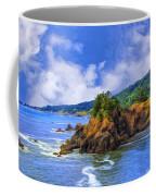 Cove On The Oregon Coast Coffee Mug