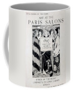 Cover For Art At The Paris Salons Coffee Mug