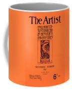 Cover For The Artist Magazine, November 1897 Coffee Mug