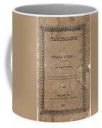 Cover Of Tamerlane Coffee Mug