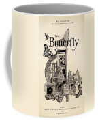 Cover Of The Butterfly Magazine Coffee Mug