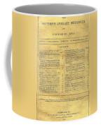 Cover Of The Southern Messenger Coffee Mug