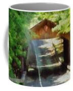 Covered Bridge In Sleeping Bear Dunes National Lakeshore Coffee Mug