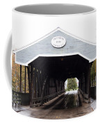 Covered Bridge North Conway Sacco River Coffee Mug