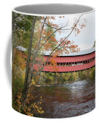 Covered Bridge Over Swift River Coffee Mug