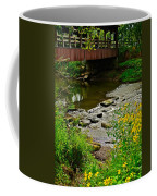 Covered Bridge Coffee Mug by Frozen in Time Fine Art Photography