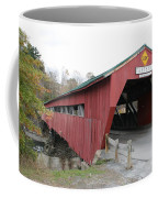 Covered Bridge Taftsville Coffee Mug