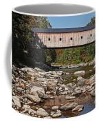 Covered Bridge Vermont Coffee Mug by Edward Fielding