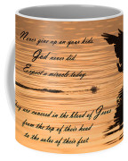 Covered In The Blood Of Jesus Coffee Mug