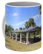 Covered Picnic Tables Coffee Mug