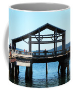 Covered Pier At Port Townsend Coffee Mug