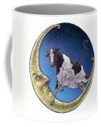 Cow And Moon Coffee Mug