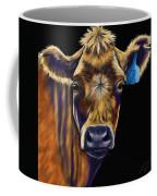 Cow Art - Lucky Number Seven Coffee Mug