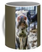 Cow Kiss Me Photo Art Coffee Mug