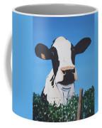 Cow On A Ditch Coffee Mug
