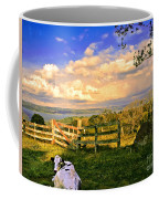 Cow Out To Pasture In Costa Rica Coffee Mug