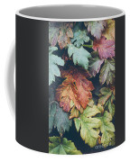 Cow Parsnip Leaves In The Fall Coffee Mug