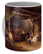 Cow Shed Coffee Mug by Robert Hills