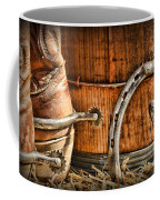 Cowboy Boots And Spurs Coffee Mug by Paul Ward