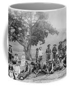 Cowboy Camp, C1890 Coffee Mug