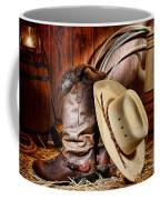 Cowboy Gear Coffee Mug by Olivier Le Queinec