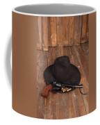 Cowboy Hat And Gun Coffee Mug